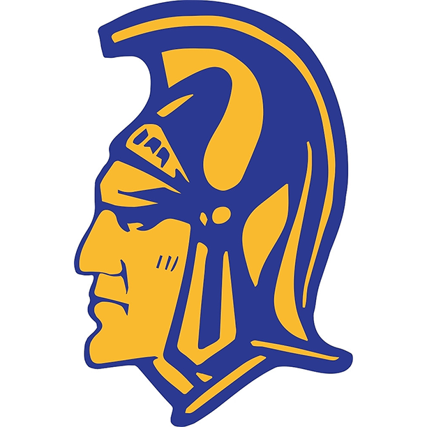 Homestead  in  spartans logo