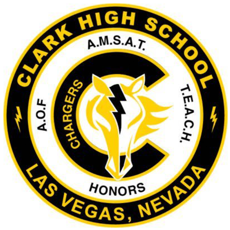Clark  nv  chargers logo