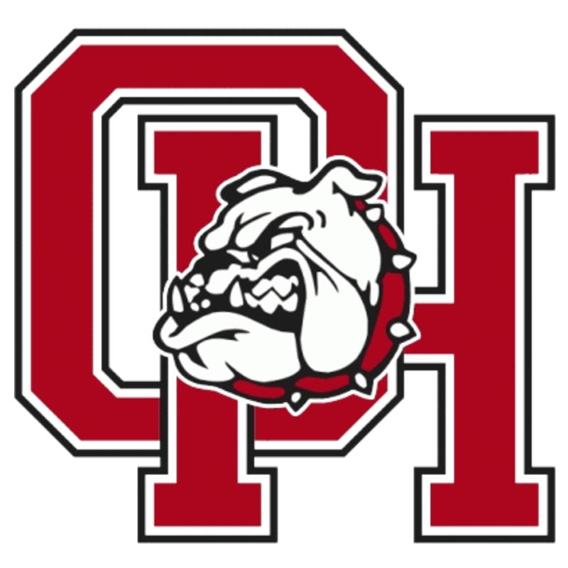 Oak hills  ca  bulldogs logo